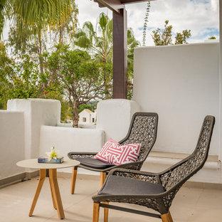 Design ideas for a scandi terrace in Malaga.