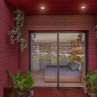 Réalisation d'une terrasse design.