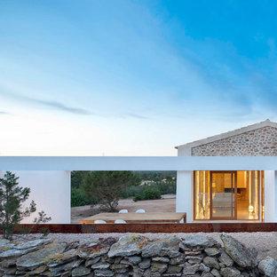Свежая идея для дизайна: веранда в средиземноморском стиле - отличное фото интерьера