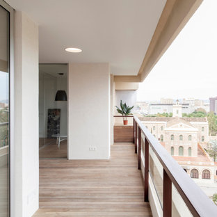 This is an example of a scandinavian terrace in Valencia.