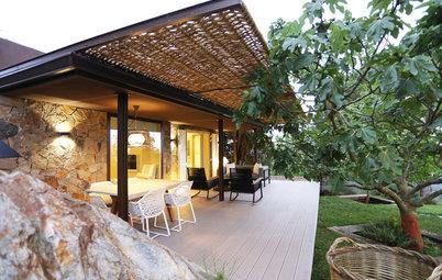 Casas Houzz: De humilde cobertizo a 'chic' vivienda para los invitados