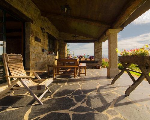 Ideas para terrazas dise os de terrazas r sticas - Diseno de porches y terrazas ...