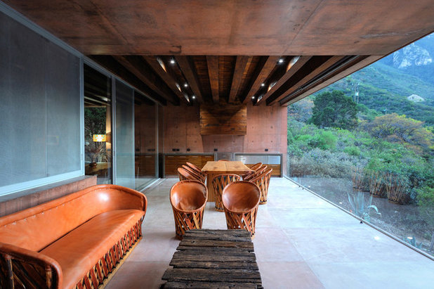Modern Terrace by P+0 Arquitectura