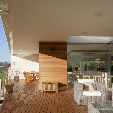 Contemporáneo Terraza Y Balcón
