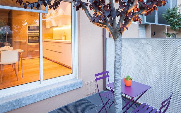 Contemporary Deck by aplom arquitectura
