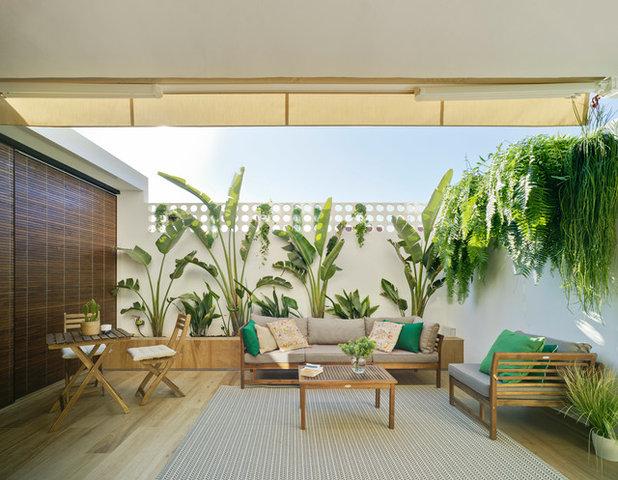 Classique Terrasse en Bois by Alberto García Diseño Interior