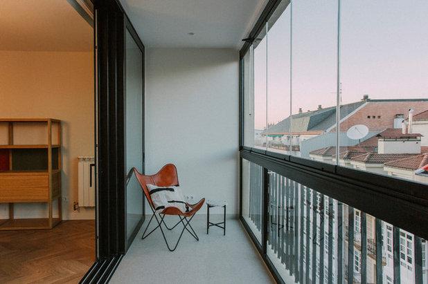 Industrial Terraza y balcón by Quefalamaria · diseño y gestión de espacios