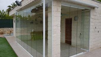 Instalación de Cerramiento de cristal en Ribarroja del Turia