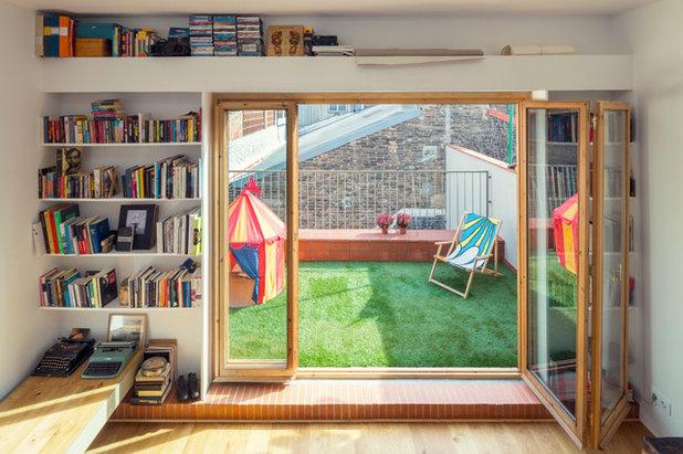 Skandinavisch Terrasse by Nook Architects