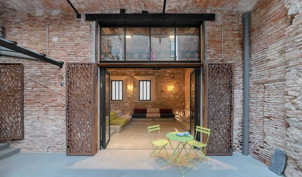 Industrial Terraza y balcón by FFWD Arquitectes