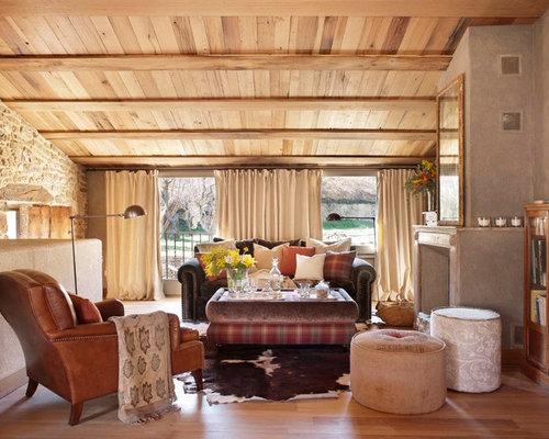 Ideas para salas de estar fotos de salas de estar r sticas for Idea sala de estar cuadrada