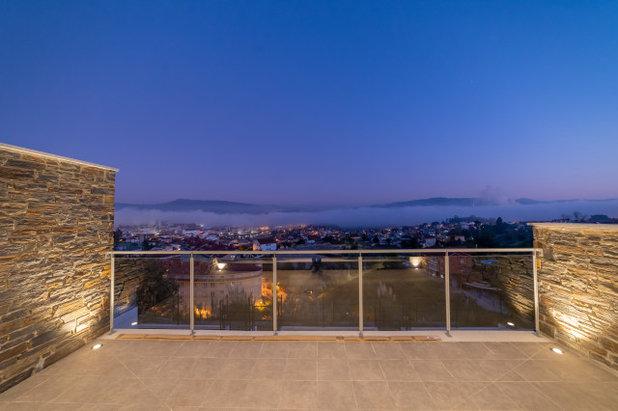 Contemporáneo Terraza y balcón by Lara Villaverde