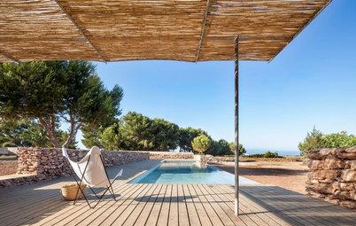 Zwischen gestern und heute: Rustikaler Pool auf Formentera