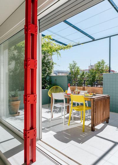 Contemporáneo Terraza y balcón by gon architects