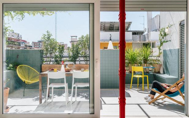 Terraza y balcón by gon architects