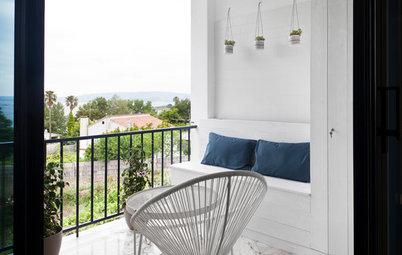 Casas Houzz: Un elegante apartamento con vistas a las Rías Bajas