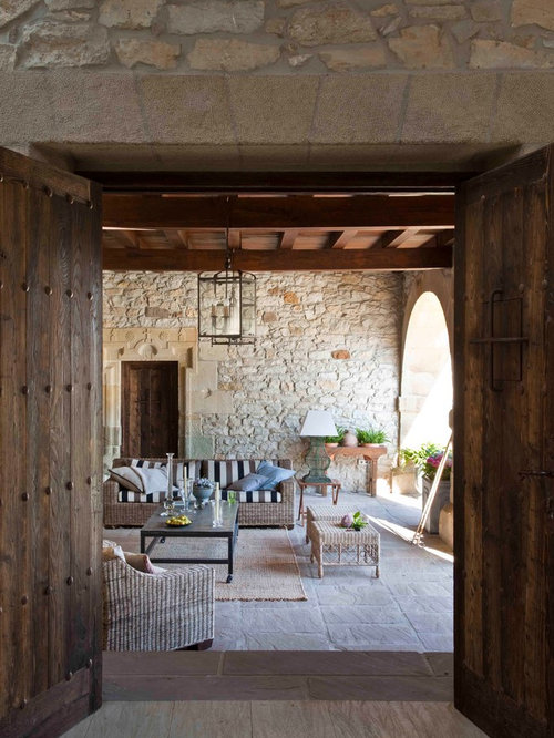 Porches de casas rusticas simple front porch decor by for Terrazas decoracion rusticas