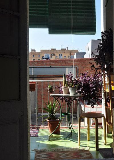 Ecléctico Terraza y balcón Reforma sorpresa en Gràcia, Barcelona