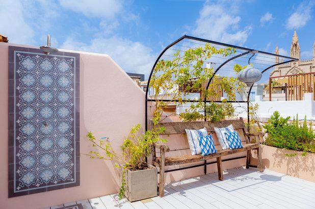 Méditerranéen Terrasse en Bois by Bondian Living Store