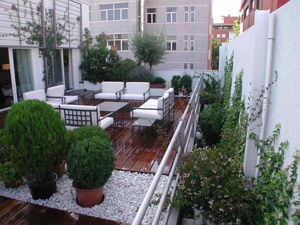 Clásico renovado Terraza y balcón by Marta Byrne