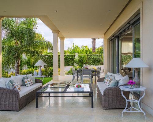 Fotos de terrazas dise os de terrazas de estilo de casa - Porches de casas de campo ...