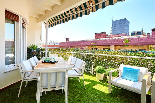 Contemporáneo Terraza y balcón by Arquitectura e Interiorismo Macarena Santos