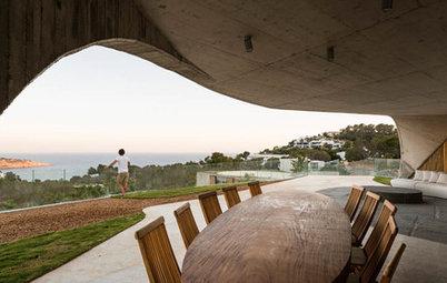 Casas Houzz: En Ibiza, 500 m² de terrazas con vistas al mar