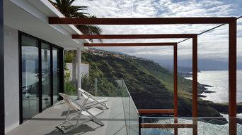 Villa sobre acantilado en Tenerife