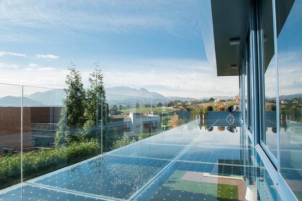 Contemporáneo Terraza y balcón by beatfilms