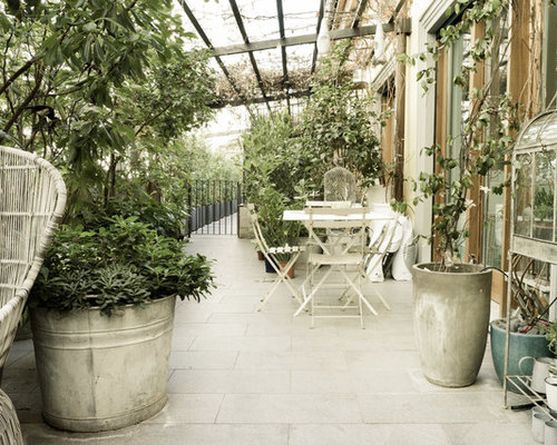 Shabby-Chic Style Terrace Design Ideas, Renovations & Photos