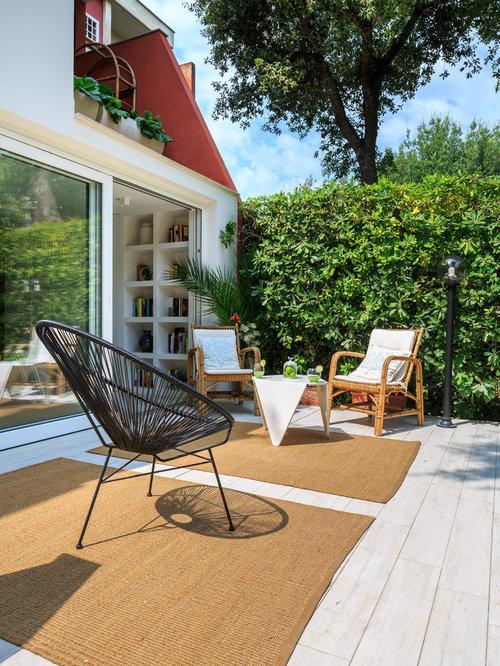 Idee e foto di terrazzi e balconi moderni for Terrazzi arredati