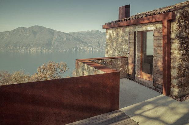 Nórdico Terraza y balcón by Michele Mascalzoni
