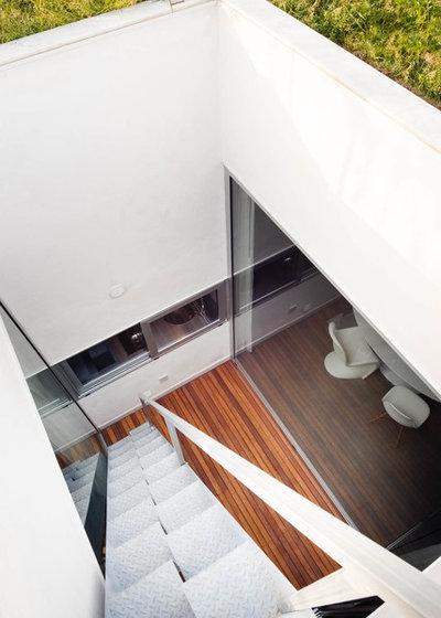 Moderno Terrazza by manuarino architettura design comunicazione.