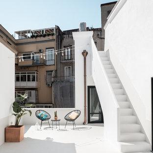 Ispirazione per una terrazza mediterranea