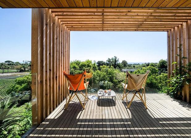 Contemporain Terrasse en Bois by Alfio Garozzo Fotografo