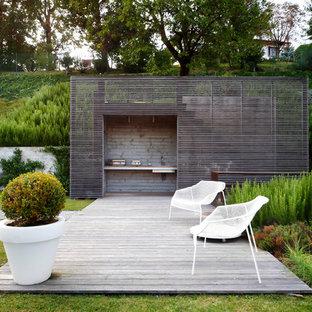 Foto di grandi terrazze e balconi minimalisti