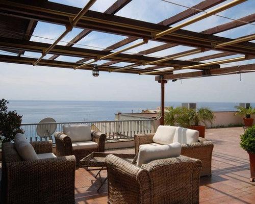 photos et id es d co de toits terrasse bord de mer italie. Black Bedroom Furniture Sets. Home Design Ideas