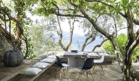 Installez un banc pour une terrasse conviviale