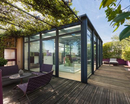 terrazzo coperto foto e idee houzz. Black Bedroom Furniture Sets. Home Design Ideas