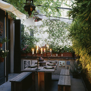 75 Beautiful Eclectic Outdoor Design With An Awning Pictures