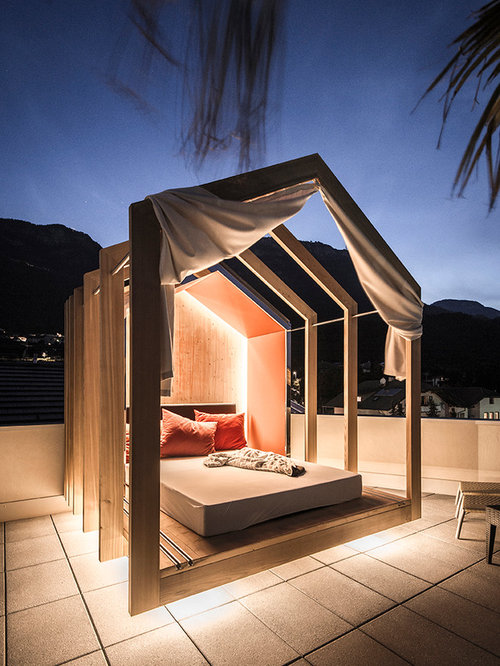Beautiful Gazebo Per Terrazza Gallery - Idee Arredamento Casa ...