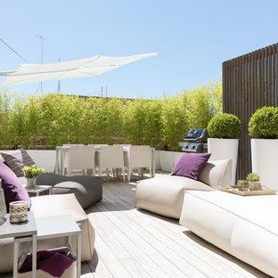 Idee per terrazze e balconi contemporanei