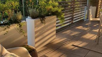 Terrazzi come giardini sospesi