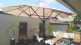 Terrazzo residenza privata - Giussano