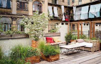 ispirazioni pavimento Patio : Trasformare un Mini Patio in una Stanza di Casa in Pi?, Open Air