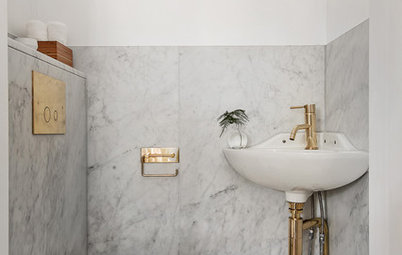 Boost Your Bathroom Style With Brass