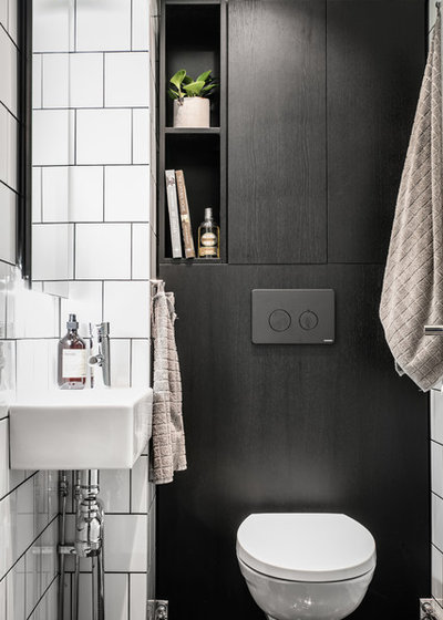 Scandinave Toilettes by A3 Byggprojekt AB