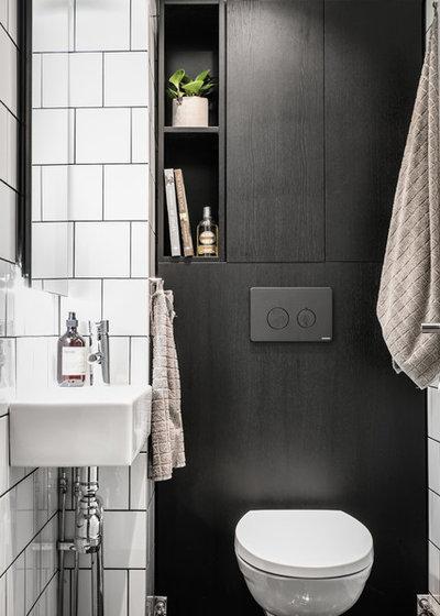 Skandinavisk Toalett by A3 Byggprojekt AB