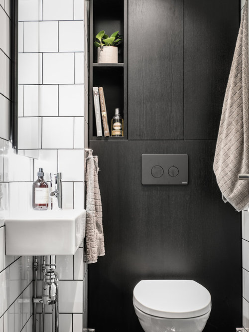 photos et id es d co de wc et toilettes scandinaves. Black Bedroom Furniture Sets. Home Design Ideas