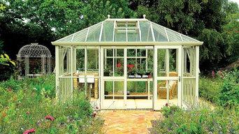 Hartley Botanic - engelska växthus i aluminium